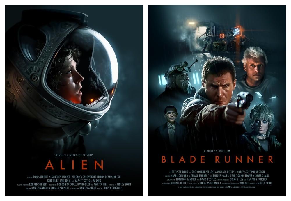 Une Grande Année - Alien - Blade Runner